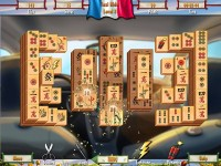 Paris Mahjong game screenshot 3