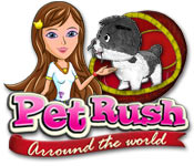 Free Pet Rush: Arround the World Game