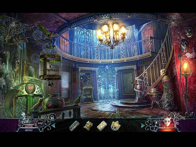 Phantasmat: Behind the Mask Collector's Edition Game screenshot 2