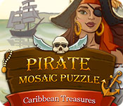 Free Pirate Mosaic Puzzle: Caribbean Treasures Game