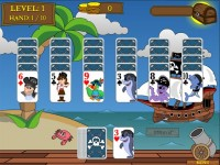 Pirate Solitaire Game screenshot 1