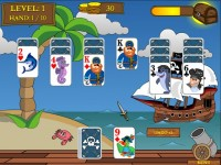 Pirate Solitaire Game screenshot 2