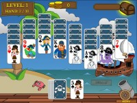 Pirate Solitaire Game screenshot 3