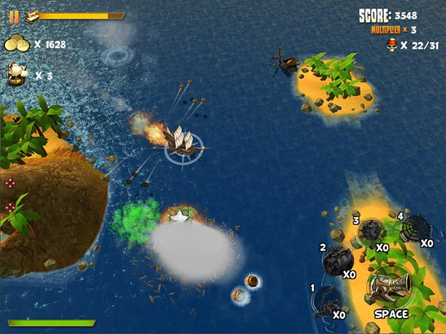 Pirates of Black Cove: Sink 'Em All! Game screenshot 1