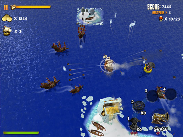 Pirates of Black Cove: Sink 'Em All! Game screenshot 2