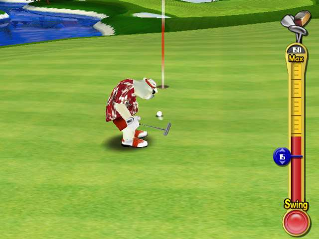 Polar Golfer Game screenshot 2