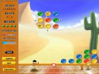 Pow Pow's Puzzle Attack Game screenshot 2
