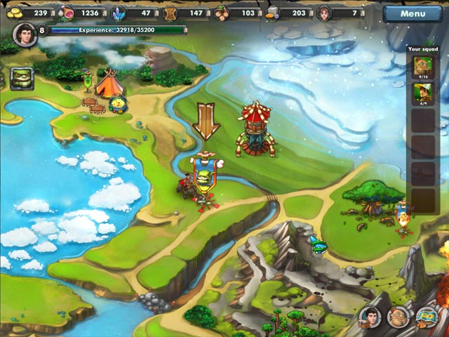 Prehistoric Tales Game screenshot 1