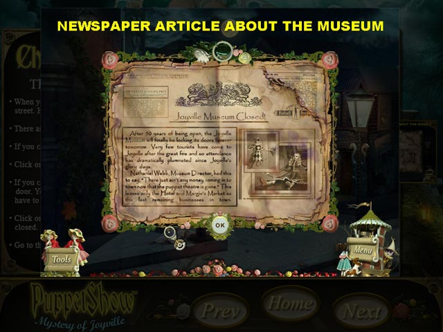 PuppetShow: Mystery of Joyville Strategy Guide Game screenshot 2
