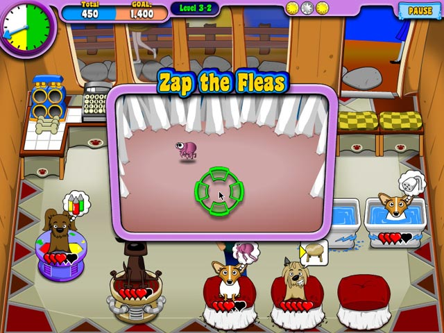 Puppy Stylin' Game screenshot 2