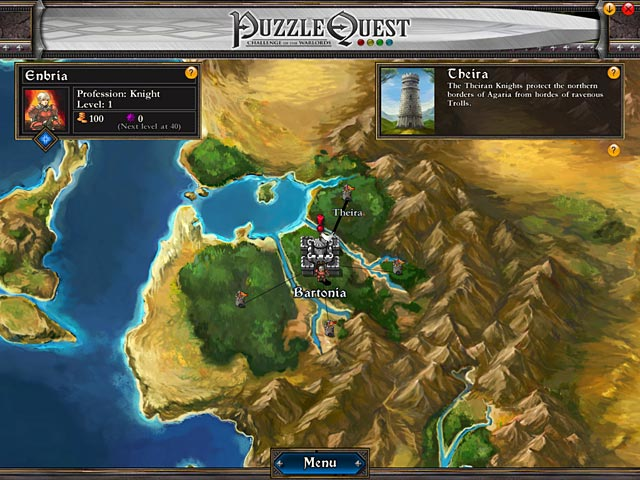 Puzzle Quest Game screenshot 2