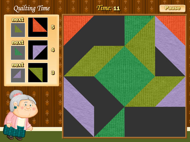 Quilting Time Game screenshot 1