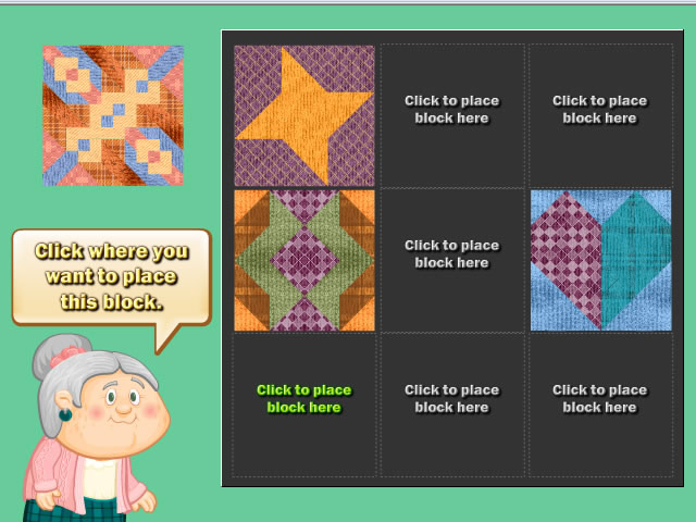 Quilting Time Game screenshot 4