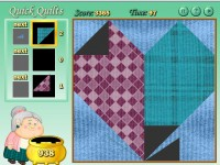 Quilting Time game screenshot 2