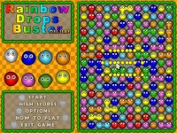 Rainbow Drops Buster Deluxe Game screenshot 1