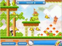 Rainbow Islands Candyland Game screenshot 1