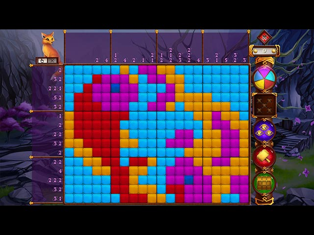 Rainbow Mosaics: Love Legend Game screenshot 2