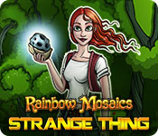 Free Rainbow Mosaics: Strange Thing Game