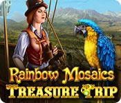 Free Rainbow Mosaics: Treasure Trip Game