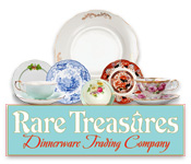 Free Rare Treasures: Dinnerware Trading Company Game