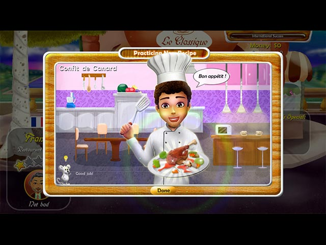 Rat and Louie: Cook from the Heart Game screenshot 2