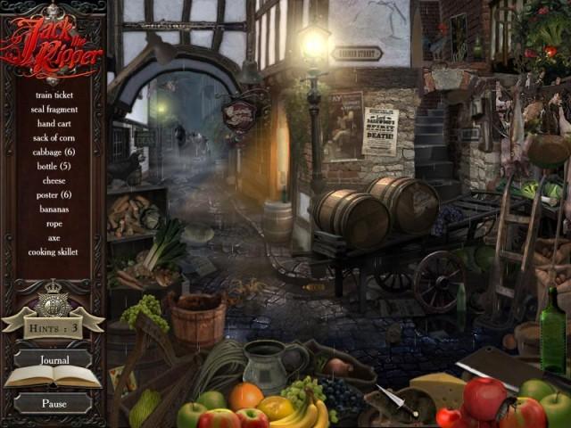 Real Crimes: Jack the Ripper Game screenshot 1