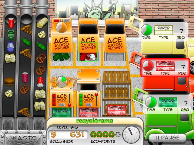 Recyclorama Game screenshot 1
