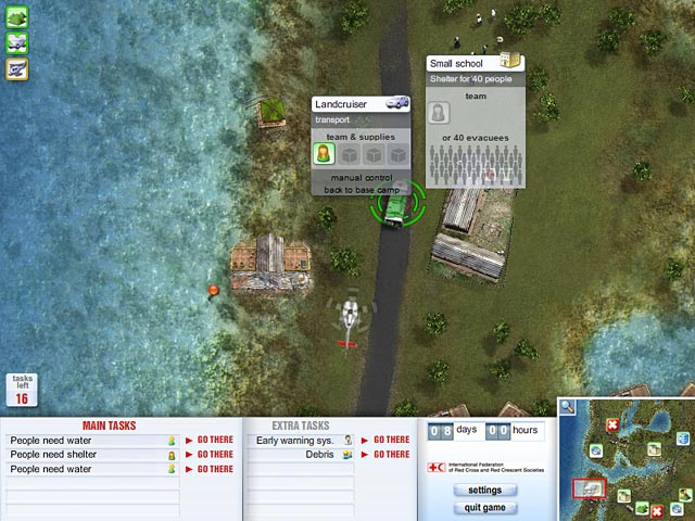 Red Cross: Emergency Response Unit Game screenshot 1