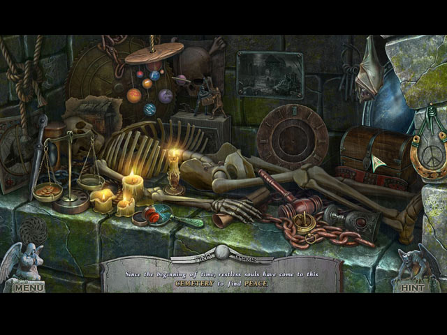 Redemption Cemetery: At Death's Door Collector's Edition Game screenshot 2