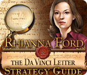 Free Rhianna Ford and the DaVinci Letter Strategy Guide Game