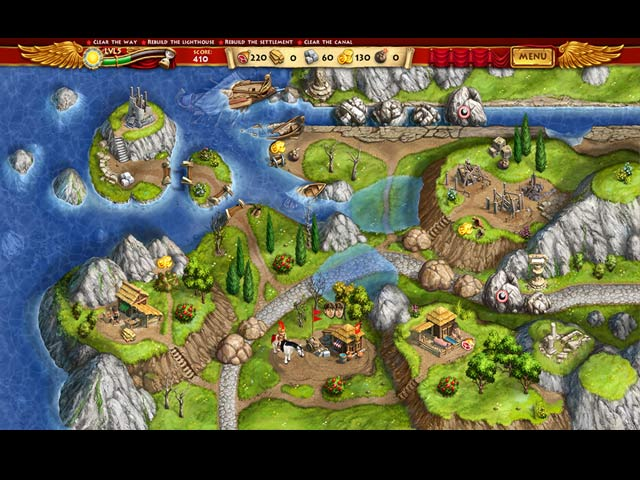 Roads of Rome: New Generation Game screenshot 1