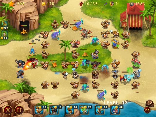Rome Defenders: The First Wave Game screenshot 2