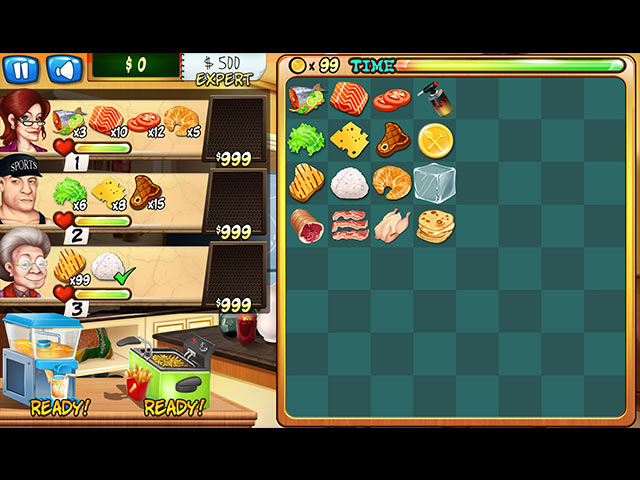 Rory's Restaurant Deluxe Game screenshot 1