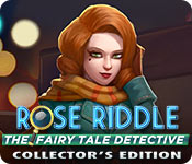 Free Rose Riddle: The Fairy Tale Detective Collector's Edition Game