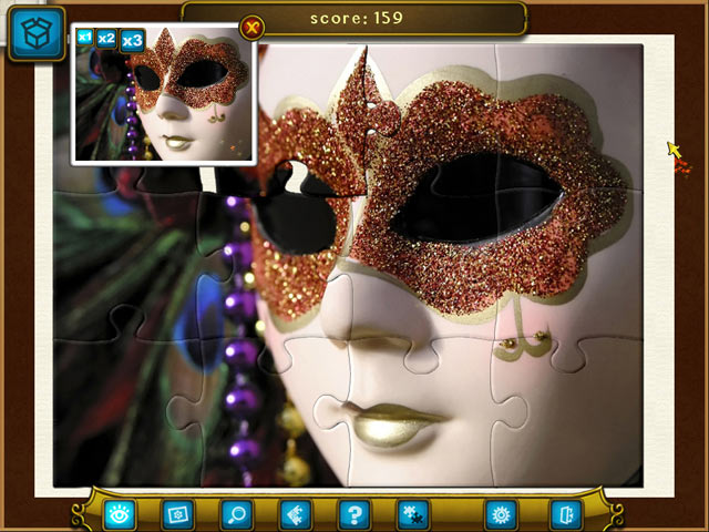 Royal Jigsaw 2 Game screenshot 1