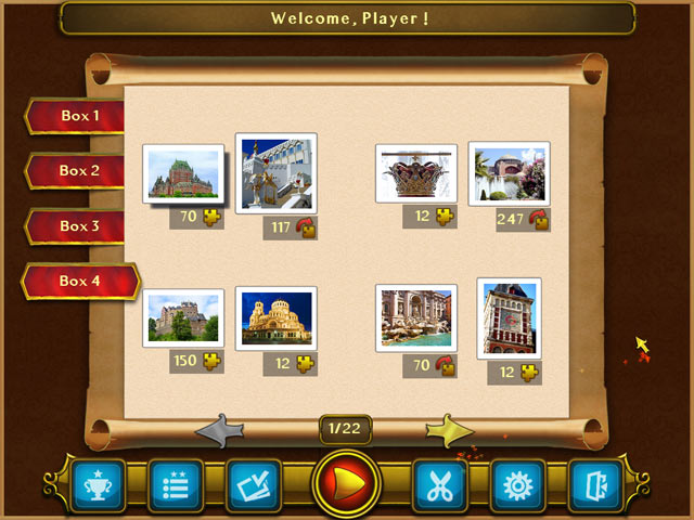 Royal Jigsaw 2 Game screenshot 2