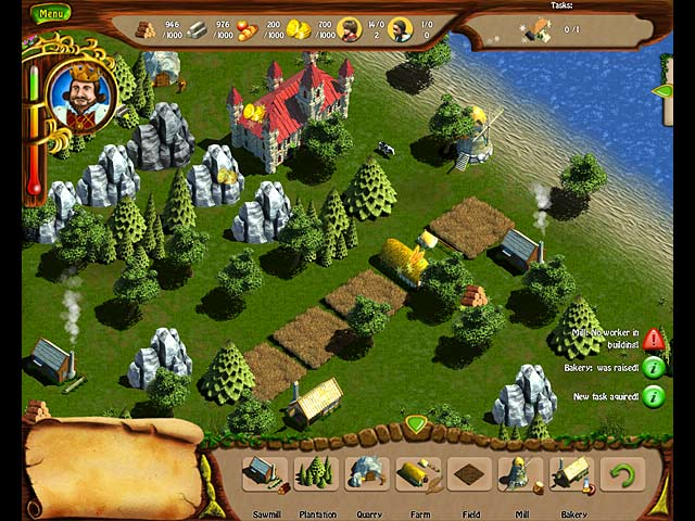 Royal Settlement 1450 Game screenshot 1