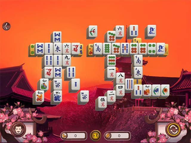 Sakura Day 2 Mahjong Game screenshot 3