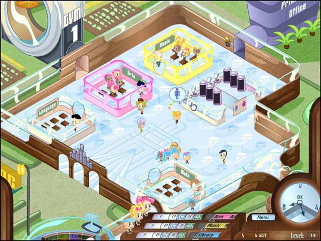 School House Shuffle Game screenshot 1