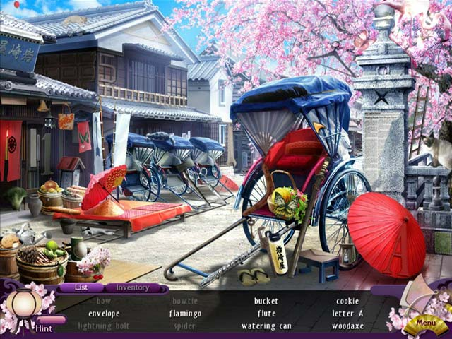 Season of Mystery: The Cherry Blossom Murders Game screenshot 2