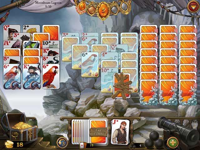 Seven Seas Solitaire Game screenshot 2