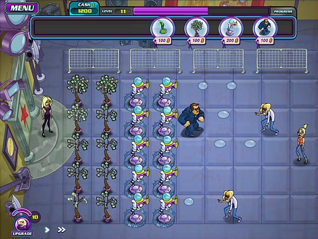 Shannon Tweed's!: Attack of the Groupies Game screenshot 1