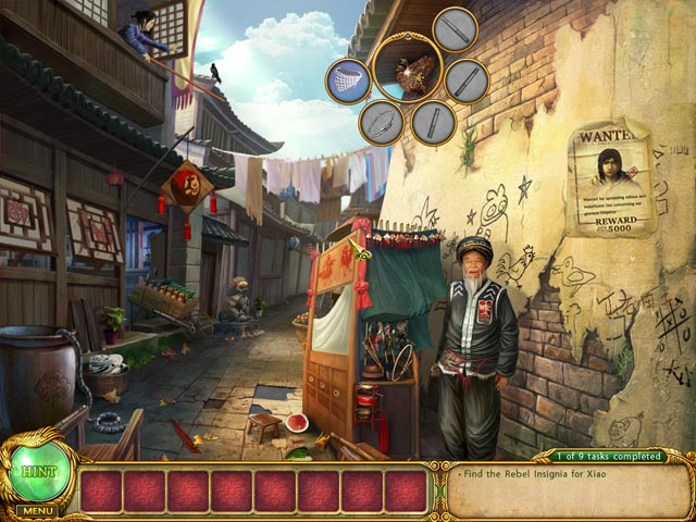 Shaolin Mystery: Tale of the Jade Dragon Staff Game screenshot 1