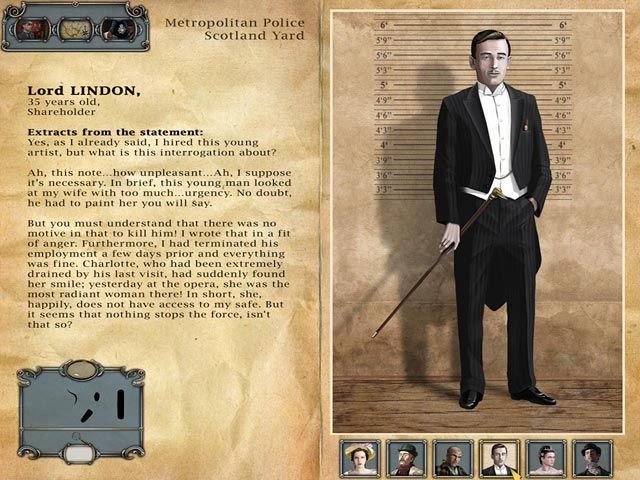 Sherlock Holmes: The Mystery of the Persian Carpet Game screenshot 3