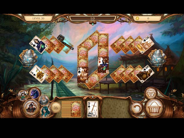 Snow White Solitaire: Legacy of Dwarves Game screenshot 2