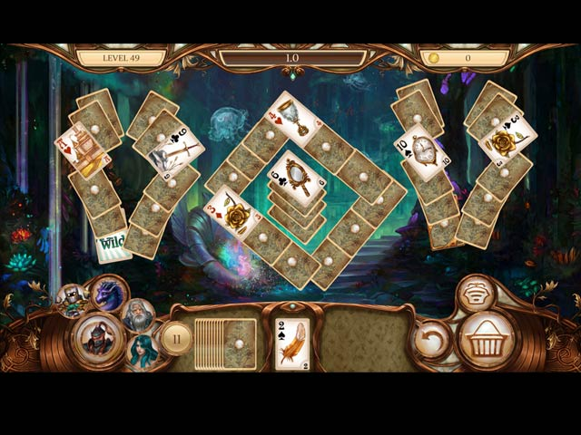 Snow White Solitaire: Legacy of Dwarves Game screenshot 3