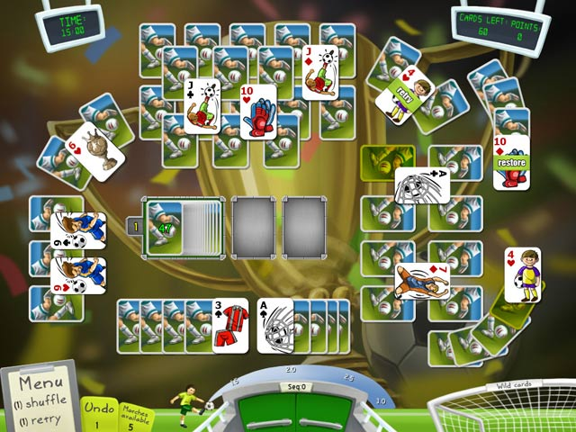Soccer Cup Solitaire Game screenshot 1