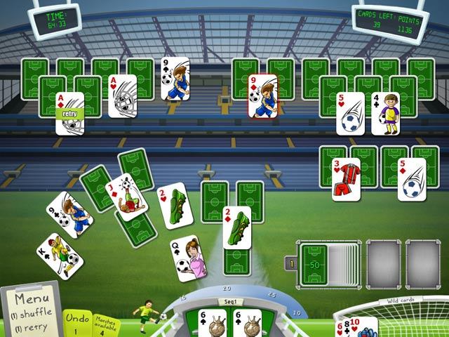 Soccer Cup Solitaire Game screenshot 3