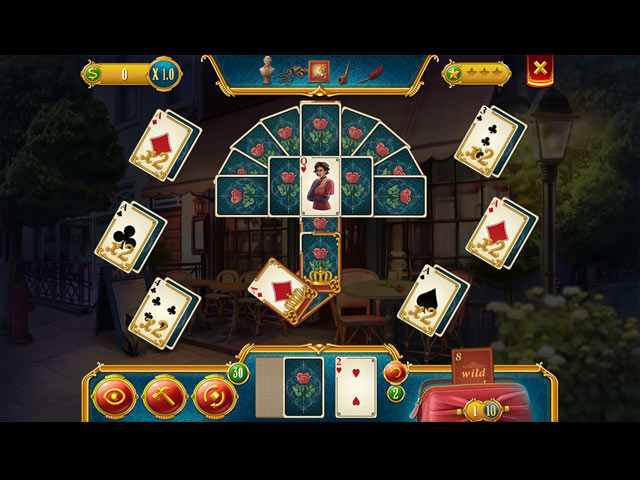Solitaire Detective: Framed Game screenshot 1