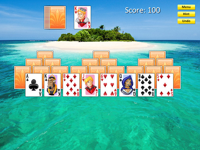 Solitaire Epic Game screenshot 3